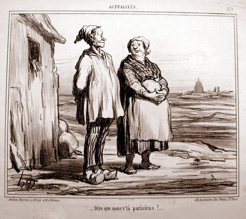 rattachement de Vaugirard et Grenelle à Paris en 1860